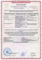 Сертификаты Energoflex Acoustic